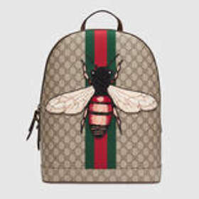 72981367ae9c Gucci Gucci Courrier Soft GG Supreme Drawstring Backpack (Men s)