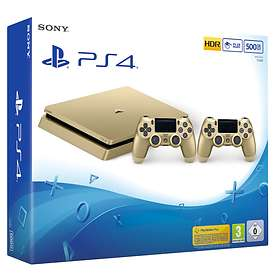 Sony PlayStation 4 Slim 500GB (+ 2nd DualShock) - Gold Edition