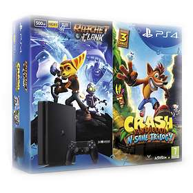 Sony PlayStation 4 Slim 500GB (incl. Ratchet & Clank + Crash Bandicoot)