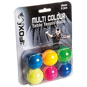 Fox TT 40mm Multicolor (6 balles)