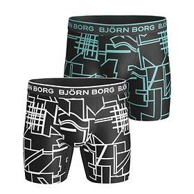 Björn Borg Multi Collage Outline Performance Pro Shorts 2-Pack