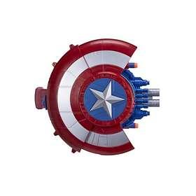 NERF Marvel Captain America Civil War Reveal Shield Blaster