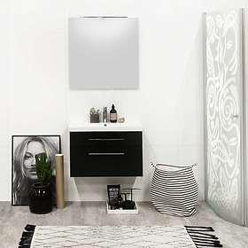 Noro Fix Trend Tvättställsskåp 750mm (Mattsvart)