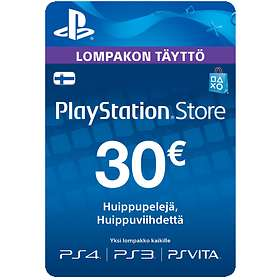 Sony PlayStation Network Card - 30 EUR