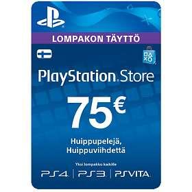 Sony PlayStation Network Card - 75 EUR
