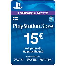 Sony PlayStation Network Card - 15 EUR