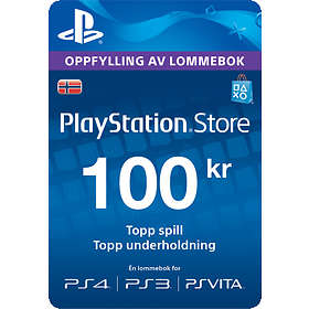 Sony PlayStation Network Card - 100 NOK