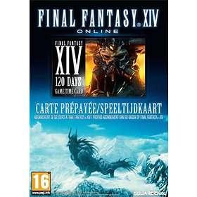 Final Fantasy XIV Online - 120 Days Game Time Card