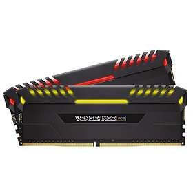 Corsair Vengeance Black RGB LED DDR4 3200MHz 2x8GB (CMR16GX4M2C3200C16)