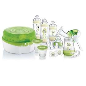 Mam Breastfeeding And Steriliser Starter Set
