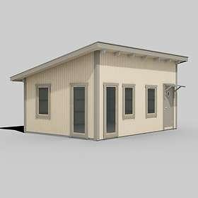 Trähuset Attefallshus Pailin 25kvm