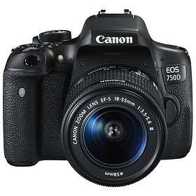Canon EOS 750D + 18-55/3,5-5,6 DC