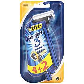 Bic Comfort 3 Pivot Disposable 6-pack