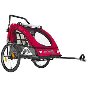 Red Cycling PRO BikeTrailer (Dubbelvagn)