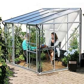 Vitavia Ida 7800 Väggväxthus 7,8kvm (Aluminium/Glas)