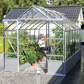 Vitavia Cassandra 9900 Växthus På Mur 9,9kvm (Aluminium/Glas)