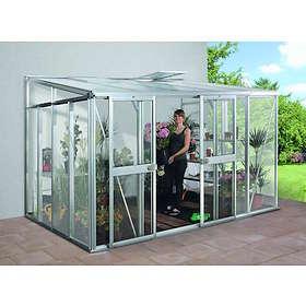 Vitavia Helena 8600 Väggväxthus 8,6kvm (Aluminium/Glas)