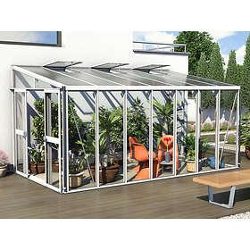 Vitavia Helena 11900 Väggväxthus 11,9kvm (Aluminium/Glas)