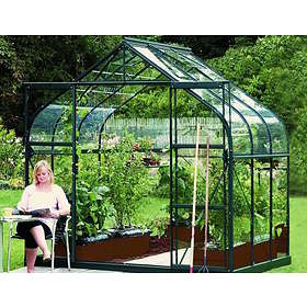 Vitavia Diana 5000 Växthus 5kvm (Grön/Glas)