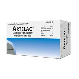 Bausch & Lomb Artelac Eye Drops 60x0.5ml