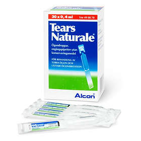 Alcon Natural Tears Eye Drops 30x0.4ml
