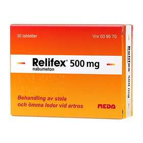Meda Relifex 500mg 30 Tabletter