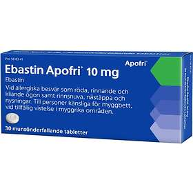 Evolan Ebastin Apofri 10mg 30 Tabletter
