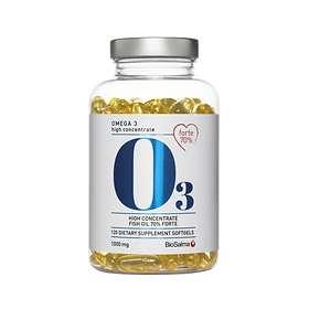 Biosalma Omega 3 70% Forte 1000mg 120 Kapslar