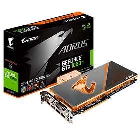 Aorus GeForce GTX 1080 Ti Waterforce WB Xtreme Edition 3xHDMI 3xDP 11GB