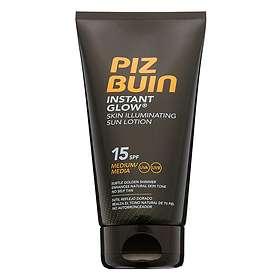 Piz Buin Instant Glow Skin Illuminating Sun Lotion SPF15 150ml