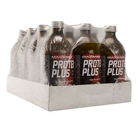 Maximize Protein Plus Glas 500ml 12-pack
