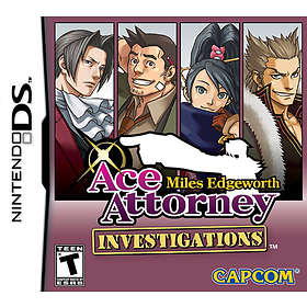 Ace Attorney Investigations: Miles Edgeworth (DS)