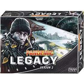 Z-Man Games Pandemic Legacy: Black (Season 2)