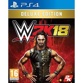 WWE 2K18 - Deluxe Edition (PS4)
