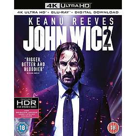 John Wick: Chapter 2 (UHD+BD) (UK)