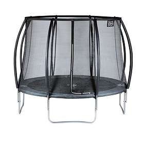 Game On Sport Black Line Trampoline with Safety Net 244cm