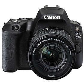 Canon EOS 200D + 18-55/3,5-5,6 IS STM + 50/1,8 STM