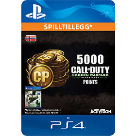 Call of Duty: Modern Warfare Remastered - 5000 Points (PS4)