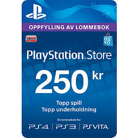 Sony PlayStation Network Card - 250 NOK