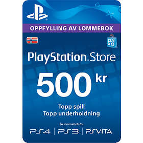 Sony PlayStation Network Card - 500 NOK
