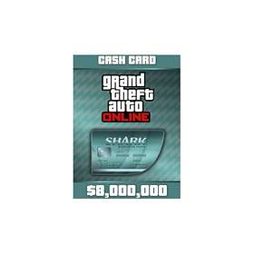 Grand Theft Auto Online: Megalodon Shark Cash Card - $8,000,000 (PC)