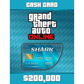Grand Theft Auto Online: Tiger Shark Cash Card - $200,000 (PC)
