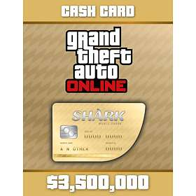 Grand Theft Auto Online: Whale Shark Cash Card - $3,500,000 (PC)