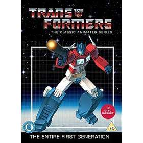 Transformers: The Classic Animated Series - The Entire First Generation (UK)