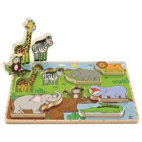 Hape Wild Animals Stand Up Puzzle E1451