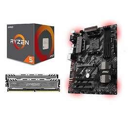 Komplett Uppgraderingspaket - 3,5GHz QC 16GB