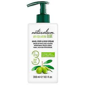 Naturalium 3in1 Hand Foot & Body Cream 300ml