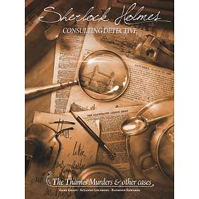 Ystari Games Sherlock Holmes: The Thames Murders And Other Cases (exp.)