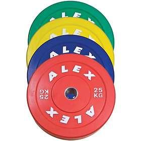 Alex Bumper Plate 20kg