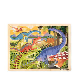 Melissa & Doug Träpussel Dinosaurier 9066